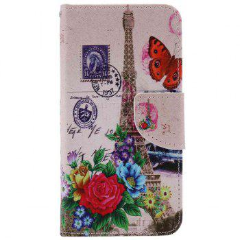 Tower Flower Pattern Phone Case For iPhone 7