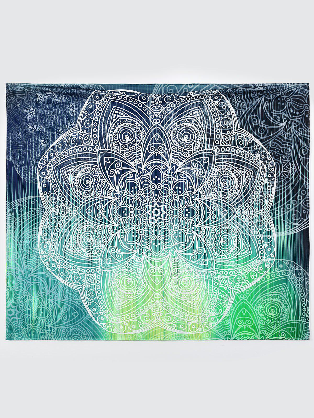 Rectangle Wall Art Throw Tapestry Beach Throw - COLORMIX M