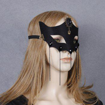 Heart Fox Elastic Hair Band Halloween Mask
