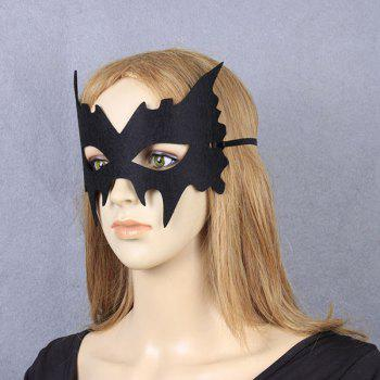 Vintage Party Accessory Specter Halloween Mask - BLACK