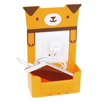 Portable Multipurpose Cartoon Animal Pattern Toothbrush Holder - ORANGE ORANGE