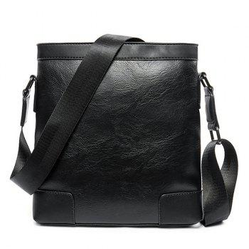 PU Leather Casual Messenger Bag