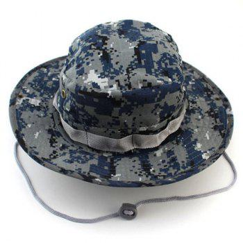 Outdoor Casual Sunproof Ventilated Camouflage Bucket Hat