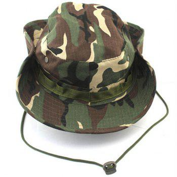 Outdoor Casual Sunproof Ventilated Camouflage Bonnie Hat