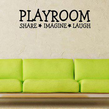 Waterproof Removable Playroom Wall Stickers