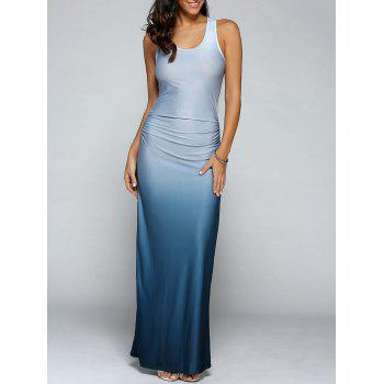 Gradient Color Maxi Dress