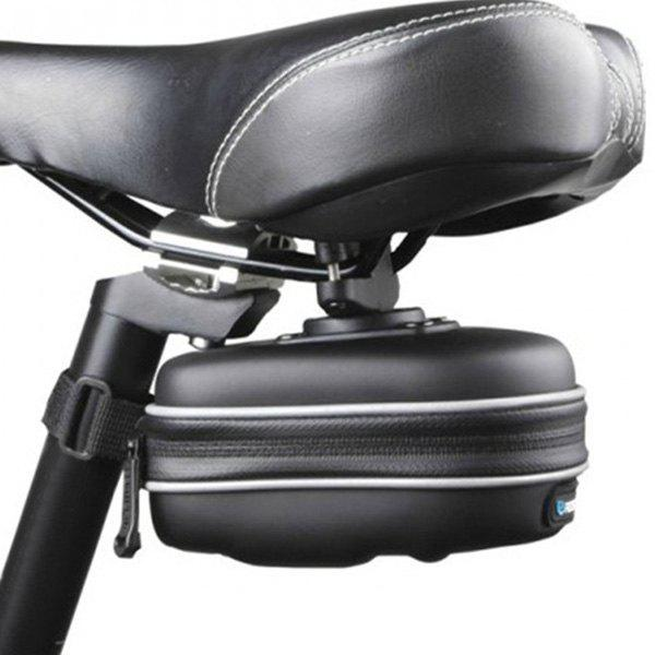 Waterproof Mountain Bicyle Pouch Saddle Bag - BLACK