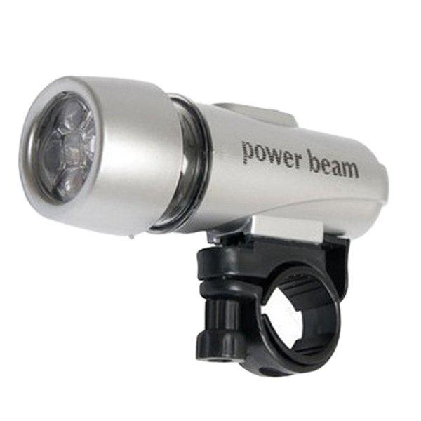Outdoor Sport LED Front Handlebar Bicycle Lamp - SILVER