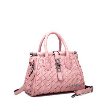 Ladylike Zip and Weaving Design Women's Tote Bag