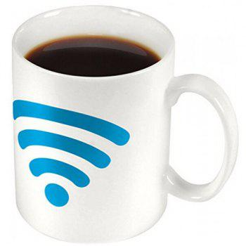 Heat Sensitive Color Changing WIFI Signals Coffee Milk Mug - COLORMIX