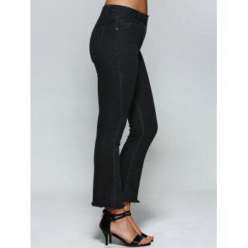 High Waist Boot Cut Jeans