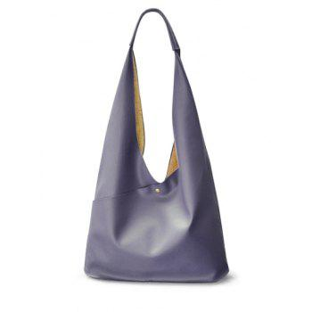 Irregular Shape PU Leather Magnetic Shoulder Bag