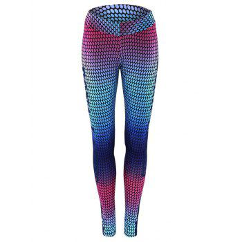 High Waist Print Skinny Gym Leggings