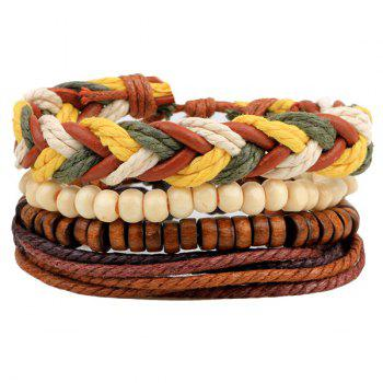 Bead Braided Bracelets