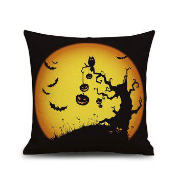 Horrored Halloween Night Pattern Home Decor Pillow Case