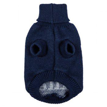 Halloween Skull Knit Crochet Winter Pet Dog Clothes - S S