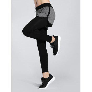 Contrast Trim Active Leggings