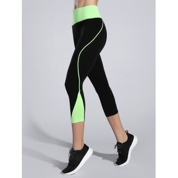 Bicolor Slimming Sporty Leggings