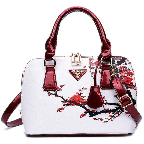 Wintersweet Printed Handbag