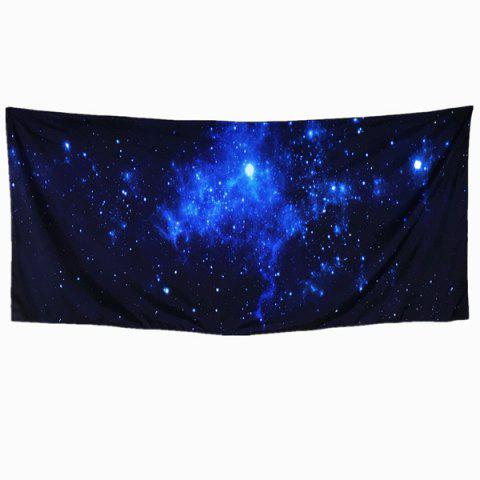 3D Galaxy Scarf - PURPLISH BLUE