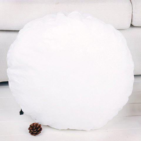 Round Comfortable Cushion Filling Pillow Inset - WHITE