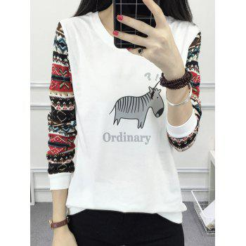 Animal Print Ordinary Raglan Tee