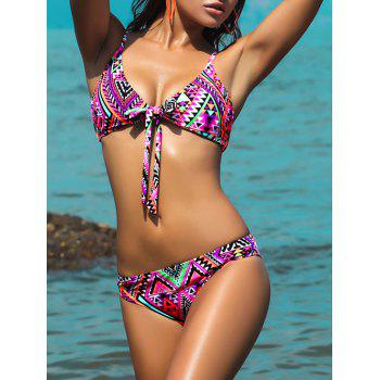 Multiway Wear Wrap Printed Bikini