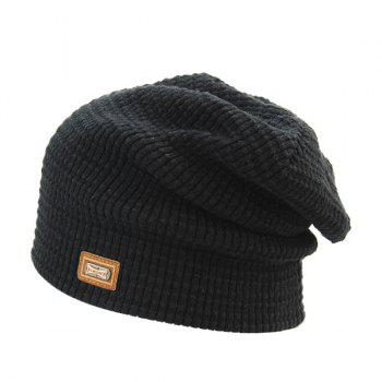 Winter Label Double-Deck Knit Ski Hat