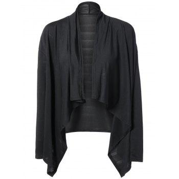 Long Sleeves Irregular Short Cardigan