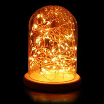 Romantic LED Flashing Room Decoration Night Light - DEEP YELLOW DEEP YELLOW