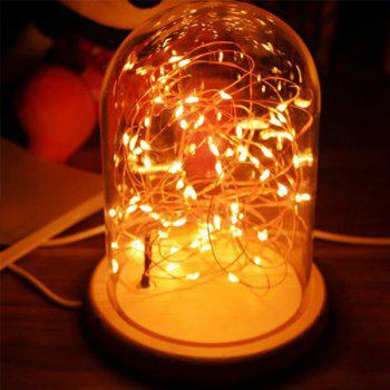 Romantic LED Flashing Room Decoration Night Light -  DEEP YELLOW