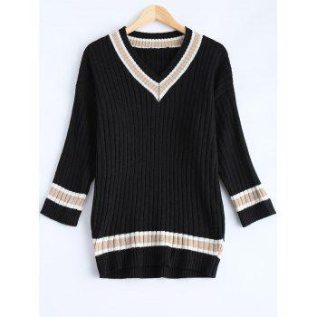 Loose Striped Vintage Sweater