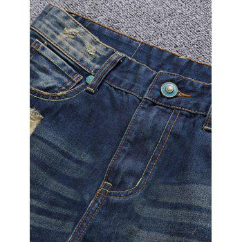 Patch Design Destroyed Jeans - 30 30