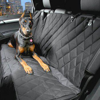 High Quality Car Pets Back Seat Waterproof Covers Mat - BLACK BLACK