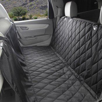 High Quality Car Pets Back Seat Waterproof Covers Mat - BLACK