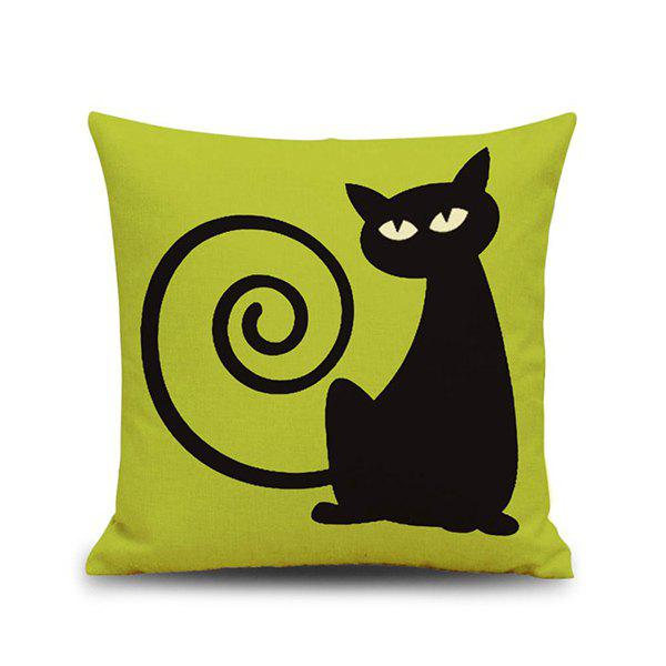 Hot Sale Cat Pattern Halloween Pillow Case от Dresslily.com INT