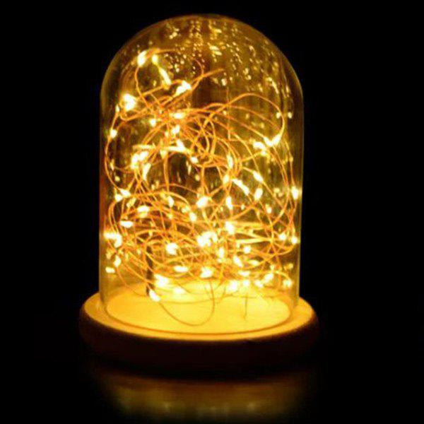 Romantic LED Flashing Room Decoration Night Light - LIGHT YELLOW