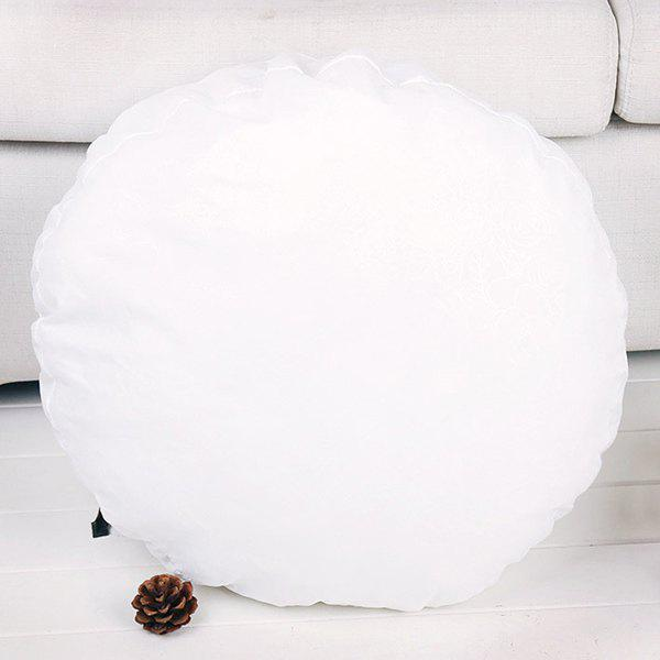 2018 Round Comfortable Cushion Filling Pillow Inset WHITE In Decorative Pillows & Shams Online ...