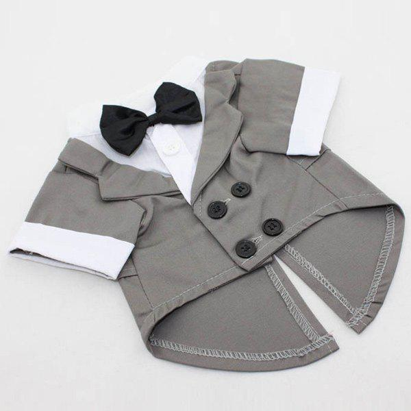 Soft Dovetail Dress Bow Tie Coat Pet Dog Clothes gibson prtk 059 historic toggle switch caps 2 pcs