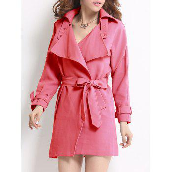 Wrap Fitting Trench Coat
