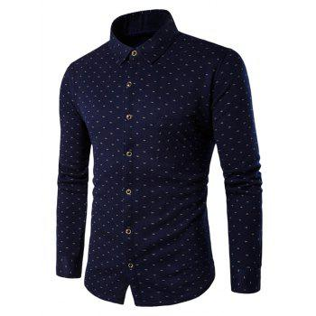 Long Sleeve All-Over Printed Thermal Shirt
