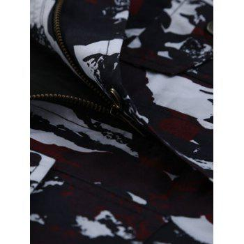 Multi-Pocket Coat Camouflage Drawstring - FF M