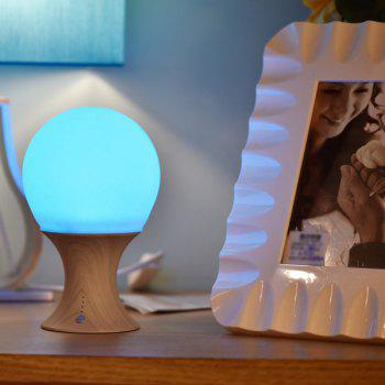 Colorful USB Charging Ombre LED Night Light - YELLOW