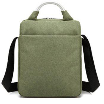 Zippers Stitching Bead Crossbody Bag - ARMY GREEN