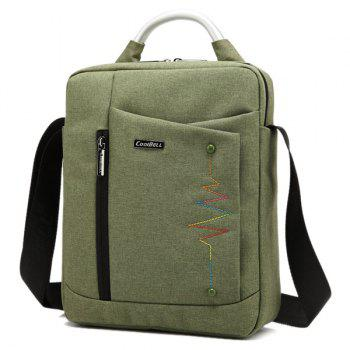 Zippers Stitching Bead Crossbody Bag - ARMY GREEN ARMY GREEN