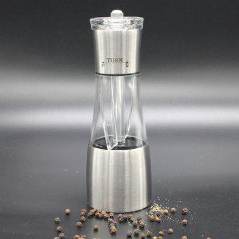Portable Stainless Steel Manual Peper Bean Grinder