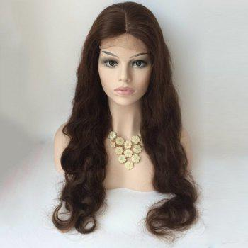 Long Body Wave Centre Parting Lace Front Human Hair Wig