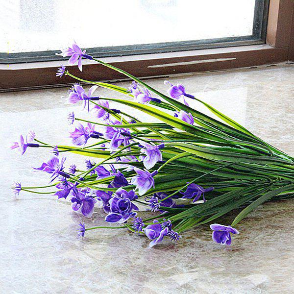 Butterfly Orchid Home Decor Artificial Flower - PURPLE