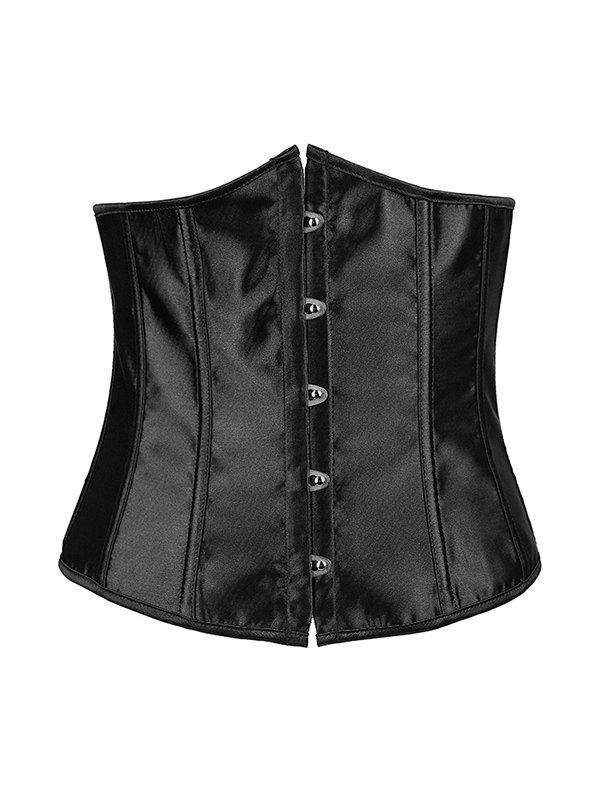 Hook Up Lace-Up Corset With Panties hook up lace up corset with panties