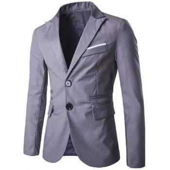 Lapel Edging Single-Breasted Design Blazer